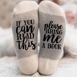 book lovers socks