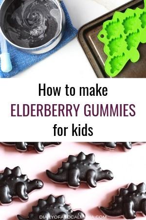 how to make elderberry gummy bears