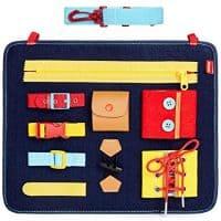 Toddler Busy Board - Montessori