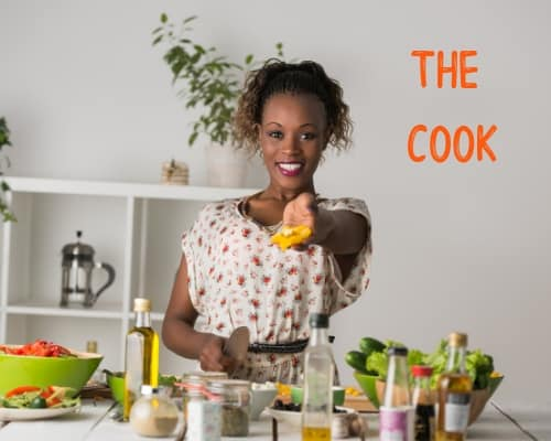 It takes a village - the cook