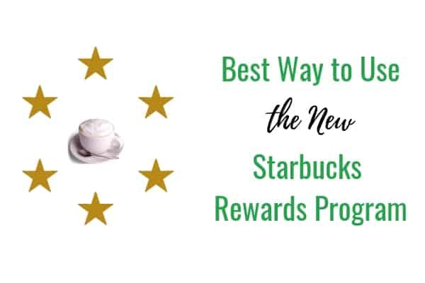 new starbucks reward program