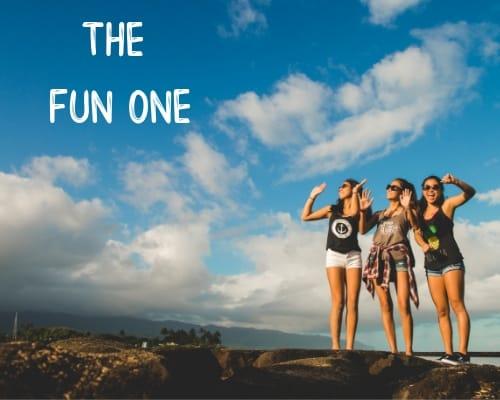 it takes a village - the fun one