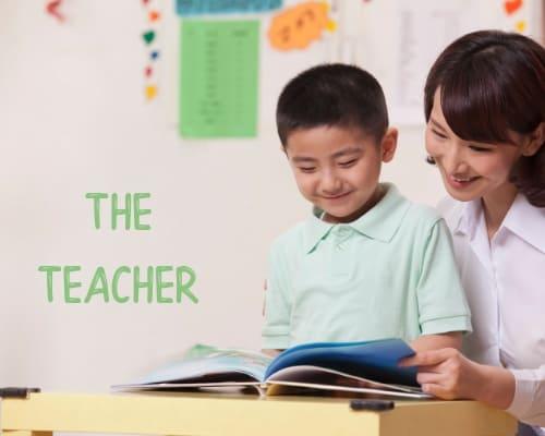 it takes a village - the teacher