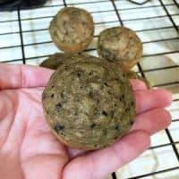 banana spinach muffin