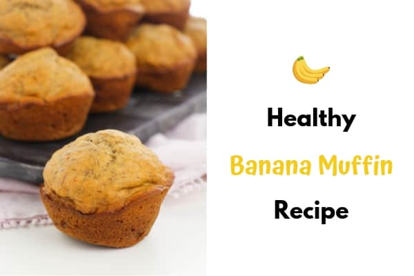 kid friendly banana muffins