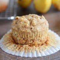 Peanut Butter Banana Muffins | Whole Grain