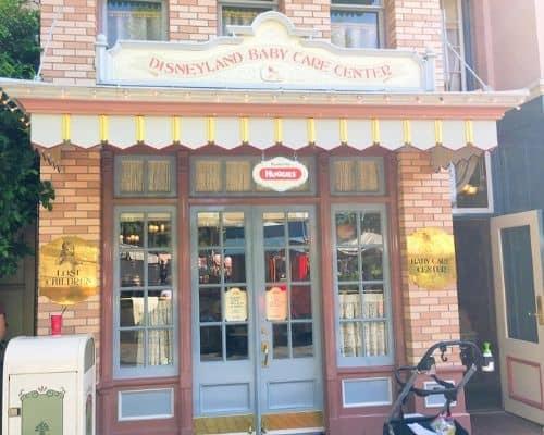 Disneyland baby care center