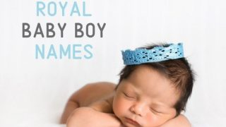 24 Baby boy names from Royalty