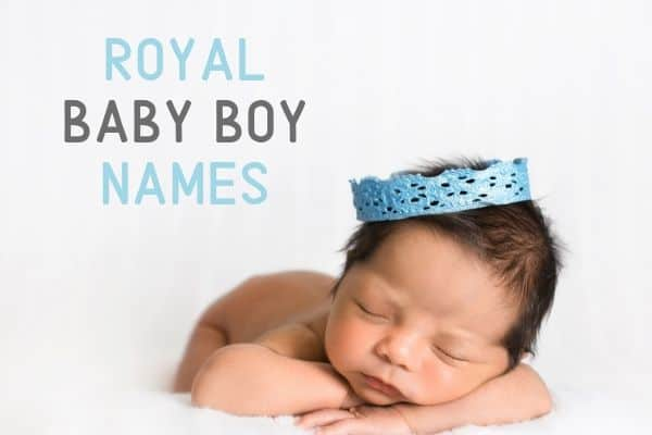 royal baby boy names