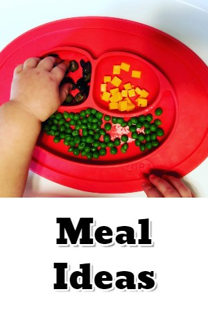Baby led weaning meal ideas