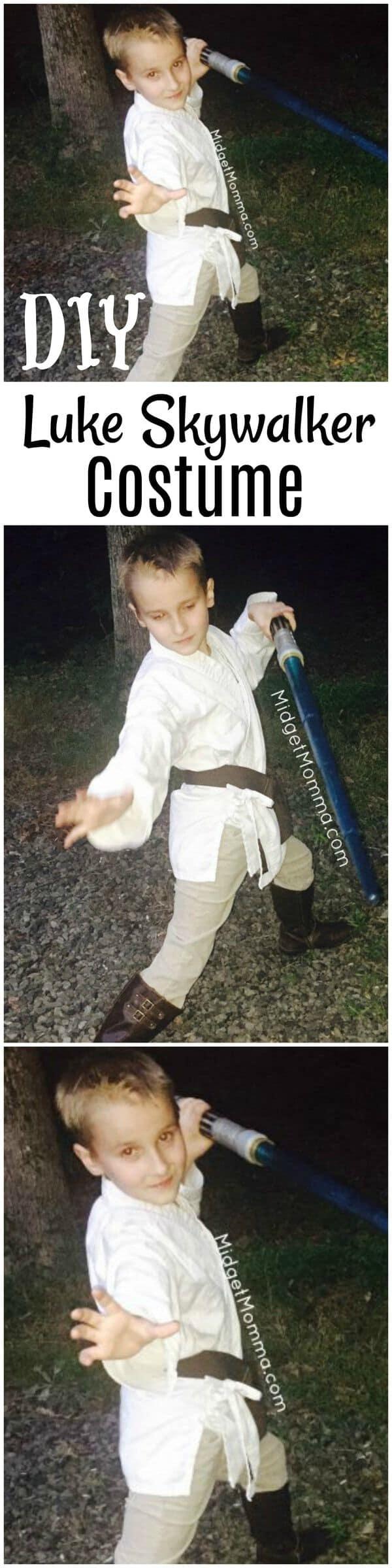 DIY Luke Skywalker Star Wars Costume
