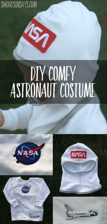 Diy toddler astronaut costume
