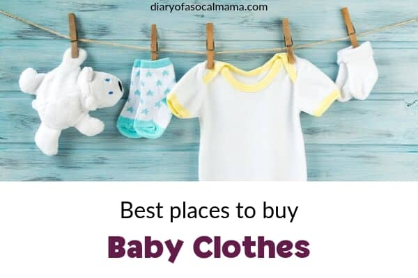 best places to buy baby clothes