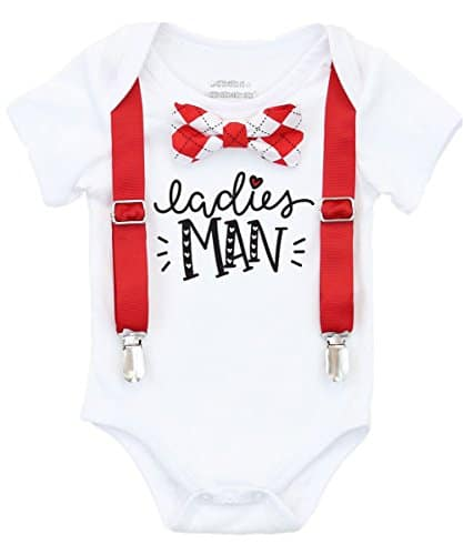 Baby boy Valentine's Outfit