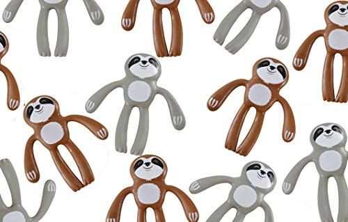 Bendable Sloth Figurines