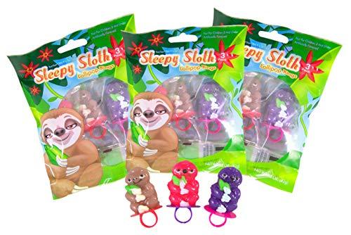 Sloth Lollipop Rings