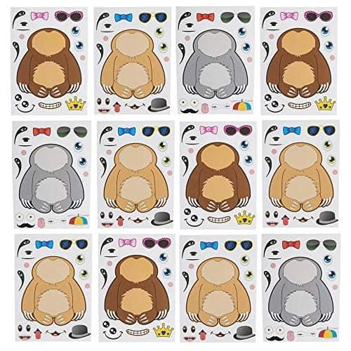 Make a Sloth Sticker