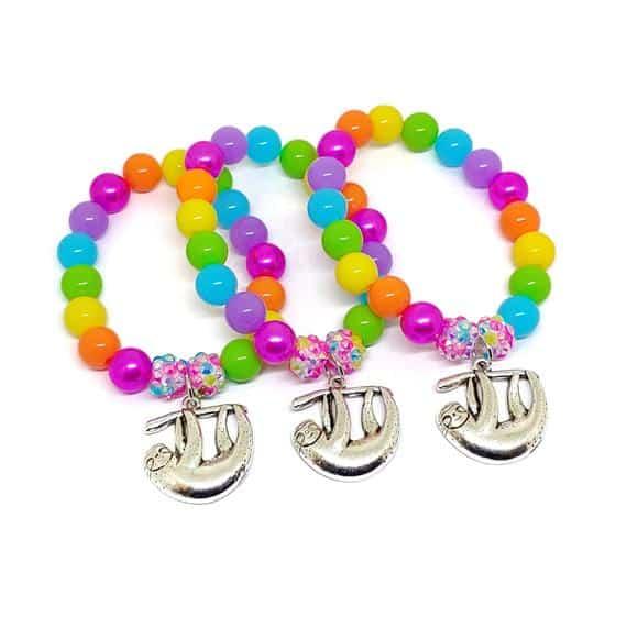 Sloth bracelets