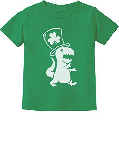 Dinosaur St. Patrick's Day Toddler/Infant Kids T-Shirt