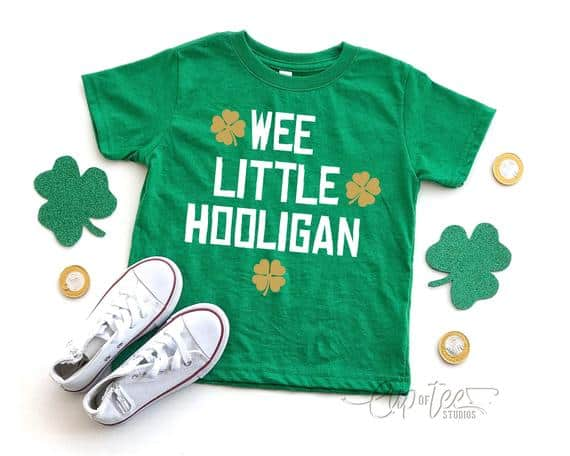 Wee Little Hooligan, St. Paddy's Day Shirt