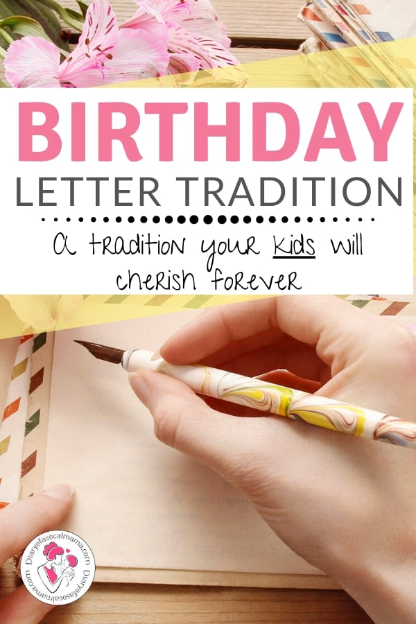 birthday letter to child