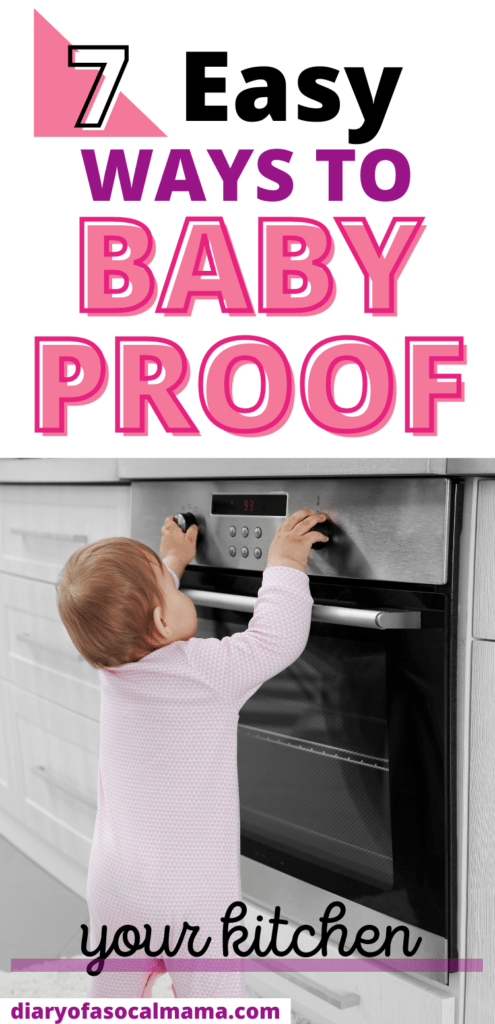 baby proof kitchen pin
