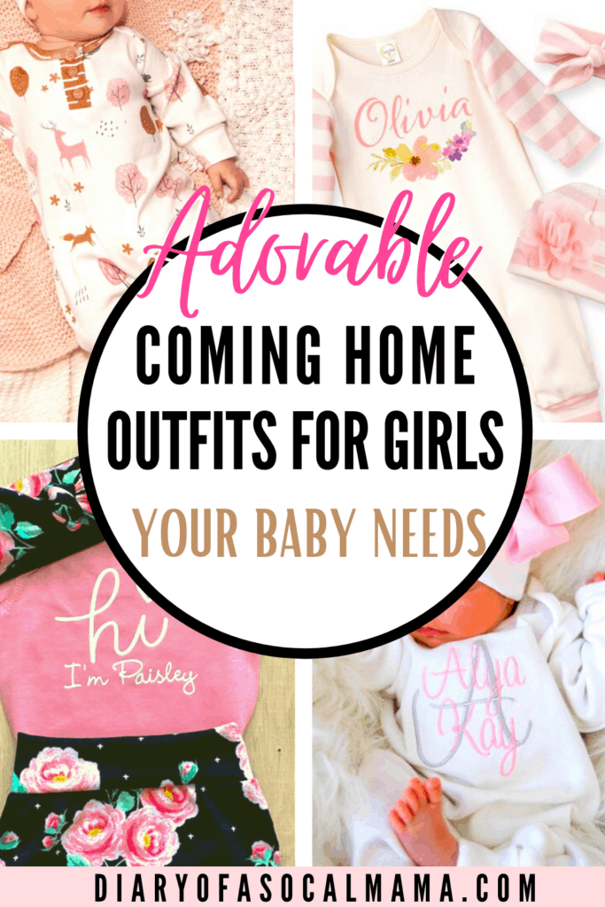 baby girl coming home outfits