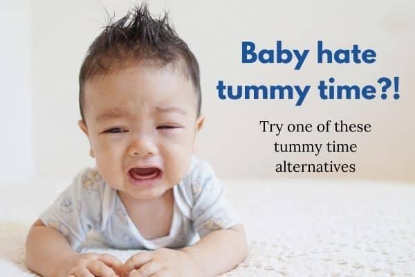 tummy time alternatives